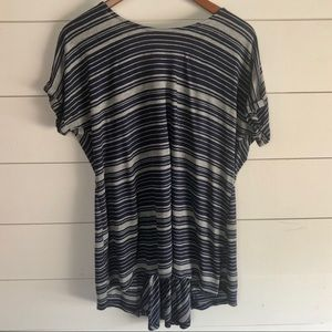 MCM for Pea in the Pod Striped Top Size Large